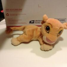 "Vintage Mattel Disney The Lion King 10"" Bean Bag Plush Stuffed Animal Toy"