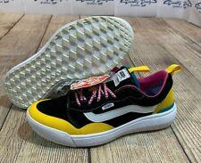 BRAND NEW Vans Ultra Range EXO Black Yellow Pink Blue Shoes Men's 7 Women's 8.5