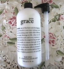 ~PHILOSOPHY~PURE GRACE~ BODY LOTION - 32 oz w/ Pump *NEW*