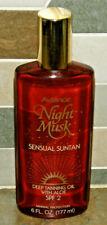 Vintage Prince Matchabelli AVIANCE NIGHT MUSK Deep Tanning Oil w/ Aloe 6 oz NOS