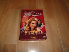 EMBRUJADA BEWITCHED TERCERA TEMPORADA EN DVD CON 4 DISCOS EN BUEN ESTADO