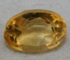 NATURAL YELLOW CITRINE LOOSE GEM 6X8.5 OVAL CUT FACETED 1.55CT GEMSTONE CI20B