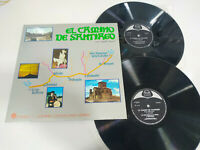 """El camino de Santiago Spanisch Löwen 1971 Estella - 2 X LP 12 """" Vinyl VG/VG"""