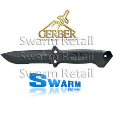 GERBER LMF II INFANTRY BLACK SURVIVAL KNIFE FIXED 1629