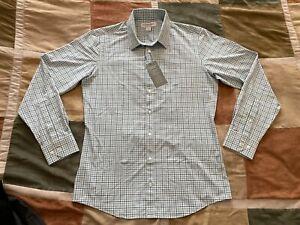 Mizzen Main lightweight leeward performance stretch shirt M trim fit men NEW