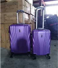 ROYAL BLUE HARD-CASE LUGGAGE 2 IN 1