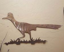 "NEW 24"" Roadrunner Bird Southwestern raw metal wall art garden large free ship"