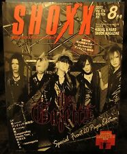 Shoxx Vol. 174 the GazettE, Girugamesh, An Cafe, Miyavi JRock Magazine + Poster
