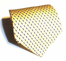 NAUTICA Mens Geometric Pattern 100 % Silk Classic Dress NeckTie