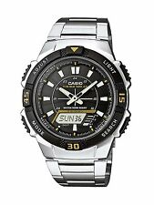 Casio Men's Solar Collection Analog-Digital steel Watch montre orologio AQ-S800W