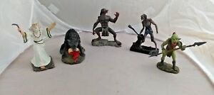 5- fantasy  collectible resin figures action fantasy mythical beasts beings