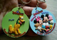 Disneyland keychain Pluto Mickey Minnie