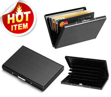 Credit Card ID Holder Slim Money Travel Wallet Men Stainless Steel RFID Blocking