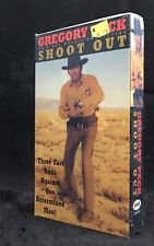 Shoot Out VHS Gregory Peck Henry Hathaway 70s Western The Lone Cowboy NEW Sealed