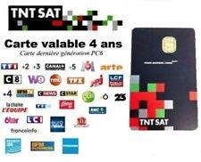 CARTE TNTSAT HD NEUVE - Decodeur Satellite ASTRA ! Envoi IMMEDIAT après commande