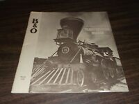 1960's BALTIMORE & OHIO GO B&O TRANSPORTATION MUSEUM BOOKLET