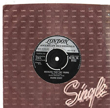 "Duane Eddy - Because They're Young / Rebel Walk 7"" Single 1960"
