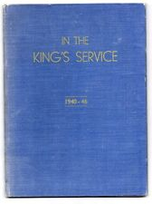 IN THE KING'S SERVICE THE NATIONAL SERVICES CLUB  QUEEN HOTEL LANSDOWNE 1940-46
