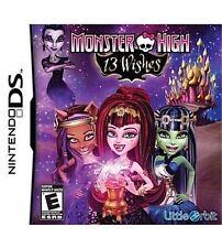 Monster High: 13 Wishes - Nintendo DS, Good Nintendo DS, Nintendo DS Video Games