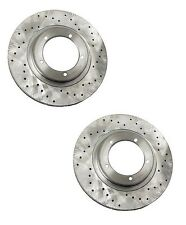 Porsche 944 Turbo 1986 Disc Brake Rotor Front Set of 2 Zimmermann Sport New