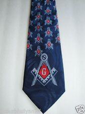 Masonic Square & Compass good quality religious neck tie