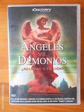 DVD ANGELES VS. DEMONIOS - ¿REALIDAD O FICCION? (X7)