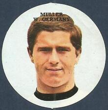 FKS 1972/73 Adesivo Circolare - # Z-West Germany-MULLER