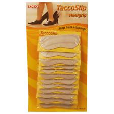 TACCO Back Heelgrip Genuine Leather Gripper (25 Pairs) Bulk Wholesale Package