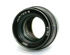 Soviet lens JUPITER-8 2/50 mm Black Carl Zeiss Sonar Leica USSR M39 KMZ