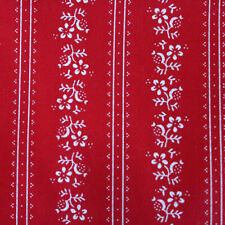 1 7/12ft Fabric Cotton Traditional Costume Fabric Red Aprons Fabric Dirndl New
