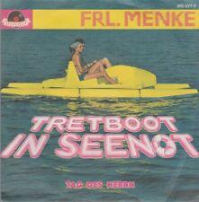 """FRL. MENKE Tretboot In Seenot / Tag Des Herren 1982 Polydor 7"""" Single"""