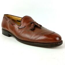 Allen Edmonds Men's Shoes Size 9.5 C Cavalier  Brown Leather Tassel Loafers