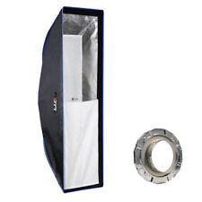 LIFE of PHOTO Easy Setup Striplight-Softbox 20x90 cm f. MULTIBLITZ V Studioblitz