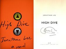 Jonathan Lee~SIGNED~High Dive~1st US Edition/1st Printing + Photos!