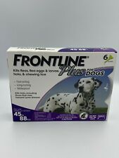 Frontline Plus for Dogs 45 to 88 lbs Purple, 6 Month Supply