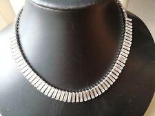 Vintage style jewellery brilliant sparkling art deco style necklace