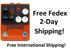 New Keeley D & M Drive Boost and Overdrive Guitar Pedal D&M DM