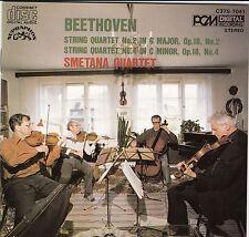 Beethoven String Quartet No.2 in G Major Op. 18 Smetana Quartet CD