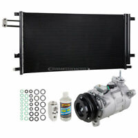 AC Compressor w/ A/C Condenser & Repair Kit For Chevy Silverado & GMC Sierra