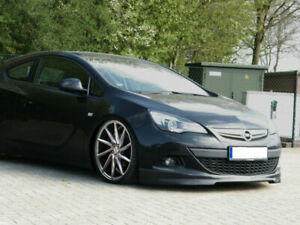 Front Bumper spoiler / skirt / valance For Opel Astra J GTC 2012 +
