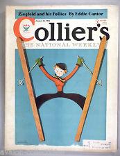 Collier's Magazine - January 13, 1934 ~~ Dashiell Hammett story