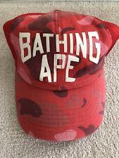 Bathing Ape Bape Trucker Hat New York Nigo Pharrell Nerd