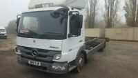 MERCEDES ATEGO 816 7.5 TON 2011 CHASSIS CAB-24FT -ADD BLUE- 1 OWNER NO VAT!
