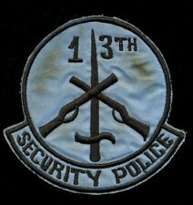 USAF 13th Security Police SQ Vietnam Patch RP-2