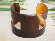 Buffalo Horn Bracelet Cuff H Natural Material Jewelry
