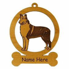 Smooth Collie Ornament 082185 Personalized With Your Dog's Name