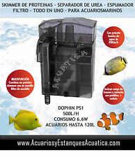 Skimmer y filtro mochila Dophin PS1 acuarios marinos separador de urea Espumador