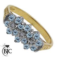 Topaz Birthday Round Fine Gemstone Rings