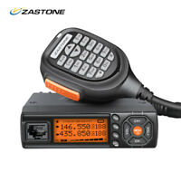 ZASTONE Z218 Mobile Radio 25W Dual Band Mini Car Transceiver 10KM Walkie Talkie
