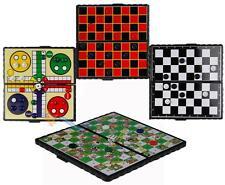 Voyage magnétique jeux de société jeu de 4 échecs Ludo Serpents et échelles de tirants d'eau jeu